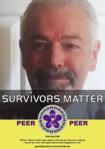 When I heard another guy speak of the sexual abuse he suffered I found my voice and spoke about what happened to me